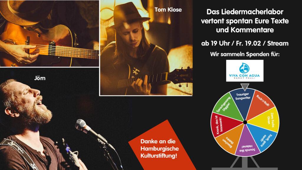 Liedermacherlabor und Videopremiere am 19.02.2021